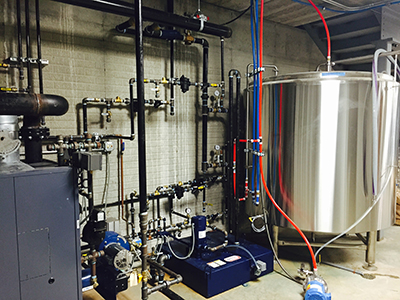 Brewery Plumbing and Piping Services