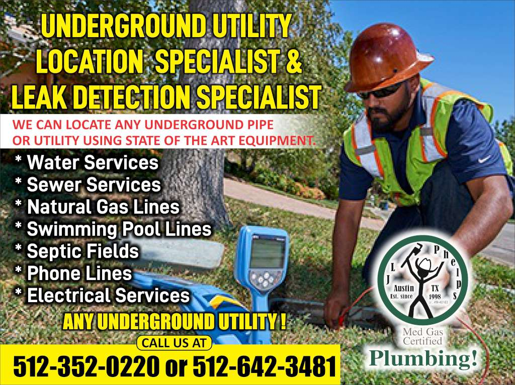 JL Phelps & Associates Plumbing And Mechanical, LLC Underground Utility Location Specialist and Leak Detection Specialist